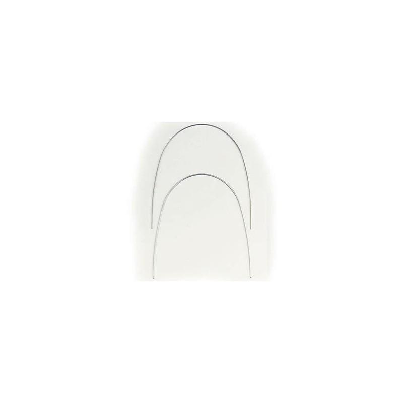 Arcos de NiTi Cuadrados Euro Inferior. 10 unidades