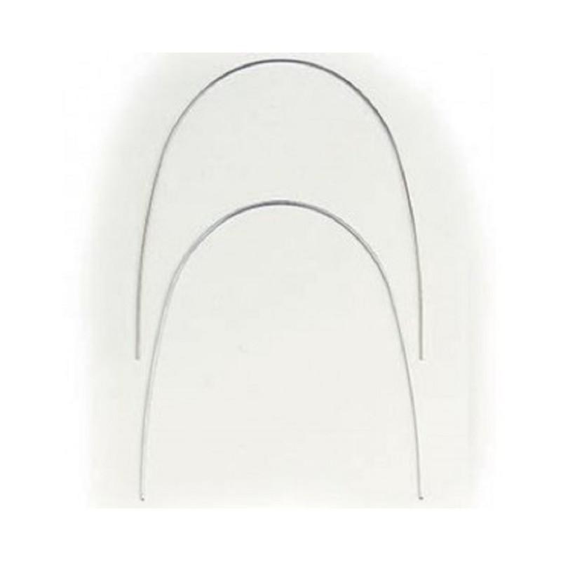 Arcos de NiTi Rectangulares Euro Superior. 10 unidades